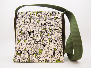Dog Family Reunion Toddler Messenger Bag