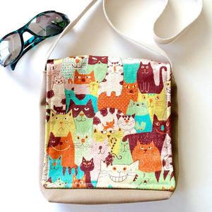 Cool Cats Toddler & Preschool Messenger Bag
