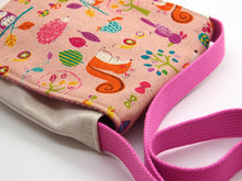 Animal Party Toddler and Preschool Messenger Bag