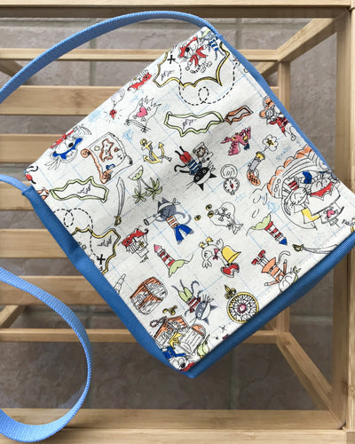 Pirates Toddler Messenger Bag