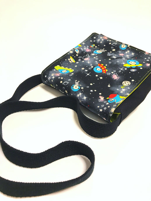 Cosmic Panda Space Explorer Toddler Messenger Bag