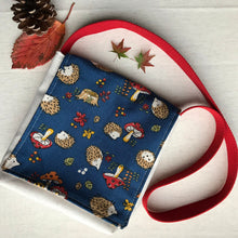 Hedgehog & Toadstool Toddler Messenger Bag