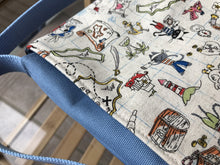 Pirate Sketch Toddler & Preschool Messenger Bag