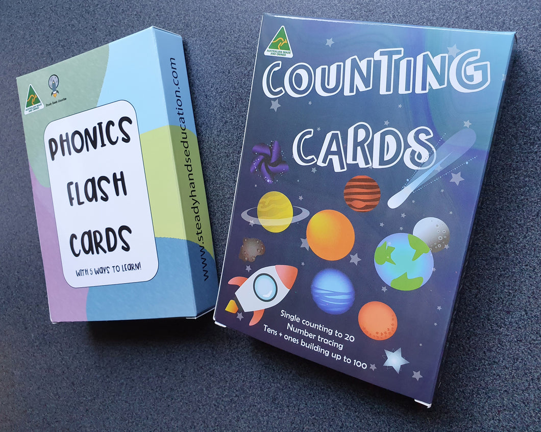 Flash card sets