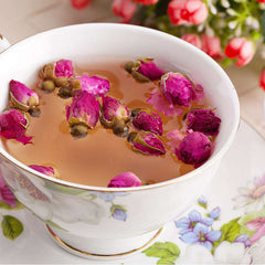Rose tea recipe to reduce stress