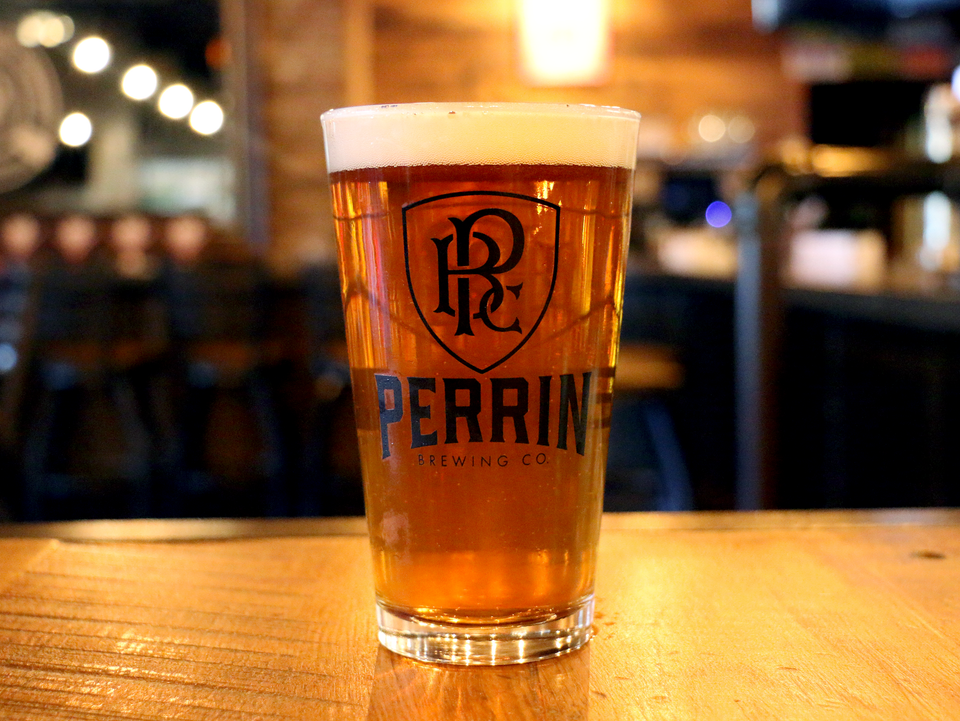 Perrin 16oz Glass