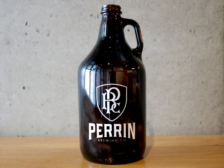 Perrin Brewing Company (Empty) Growler
