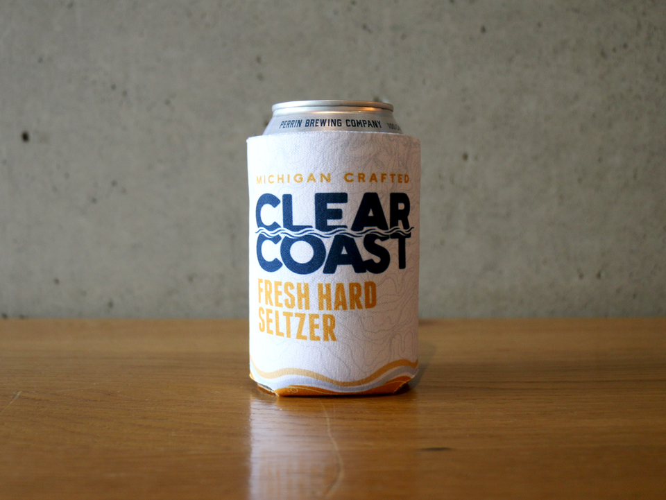 Clear Coast Koozie