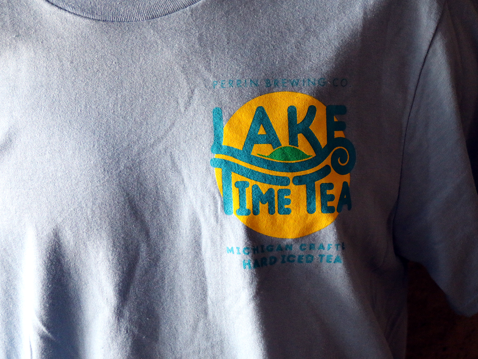 Lake Time Tea Tee