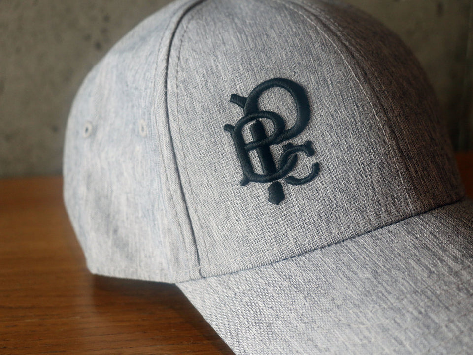 Light Grey Linen Baseball Hat
