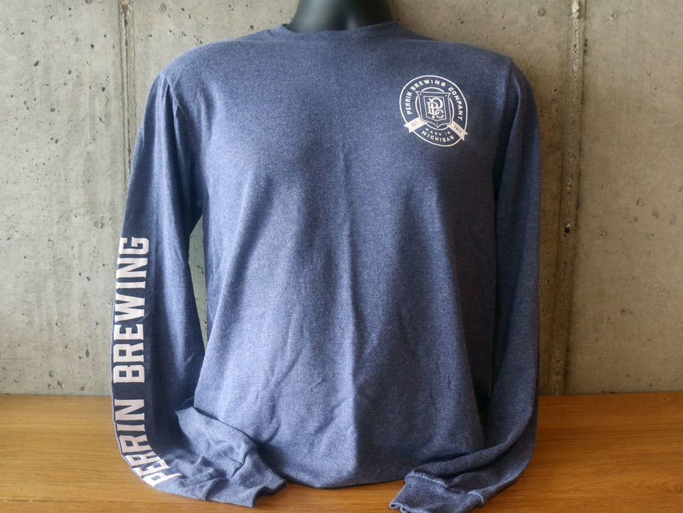 Men's Blue Long Sleeve