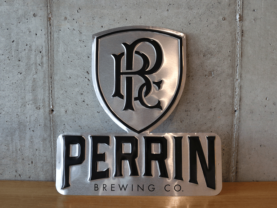 Perrin Logo Tin Tacker