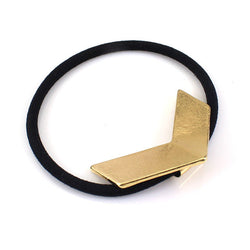 Gold V Hair Band