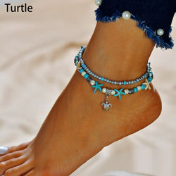 Ocean Anklet Collection