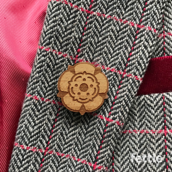 Yorkshire Rose Brooch