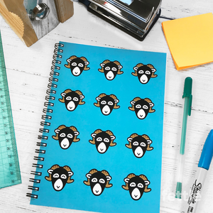 Swaledale Sheep Notebook