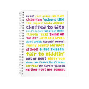 Yorkshire Phrases Notebook