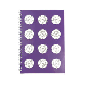 Yorkshire Roses Notebook