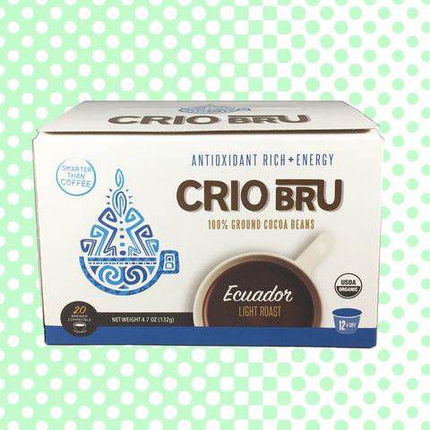 Ecuador Light Roast K-Cup Crio Bru