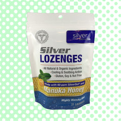 Silver Lozenges with Manuka Honey