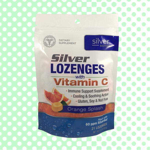 Silver Lozenges with Vitamin C