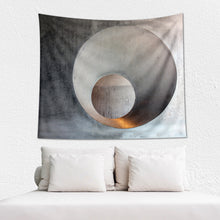 Load image into Gallery viewer, Industrial Art Wall Tapestry - Wakaleka