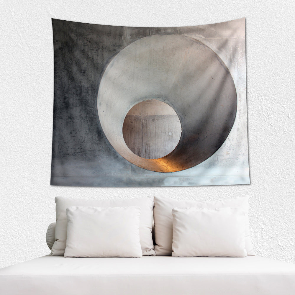 Industrial Art Wall Tapestry - Wakaleka