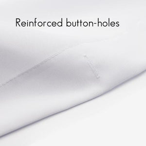 reinforced button holes
