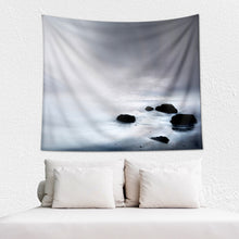 Load image into Gallery viewer, Misty Ocean Wall Tapestry - Wakaleka