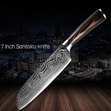 Load image into Gallery viewer, Mokuzai™ Steel Kitchen Knives (40% OFF)