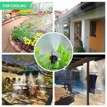 Load image into Gallery viewer, Adjustable Garden Mist Cooling System - 5M/10M/25M