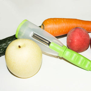 Vegetable Peeler With Storage 【50% OFF】