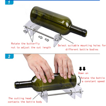 Load image into Gallery viewer, Professional Glass Bottle Cutting Machine