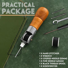 Load image into Gallery viewer, 5 Piece Leather Sewing Repair Kit