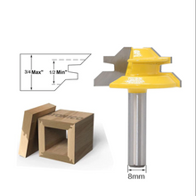 Load image into Gallery viewer, 45 Degree Lock Miter Router Bit