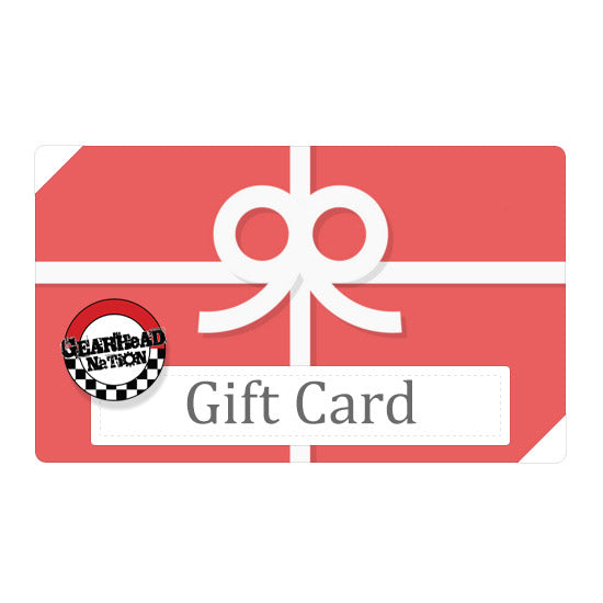 Gearhead Nation Gift Card