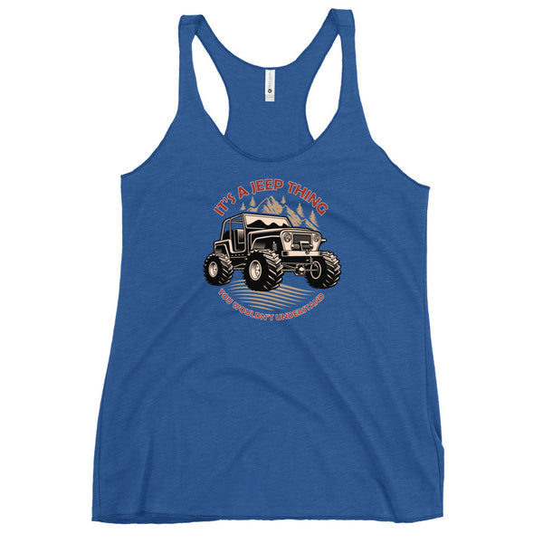 It's a Jeep Thing - Women's Racerback Tank
