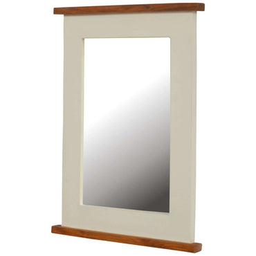 2 Toned Rectangular Mirror Frame