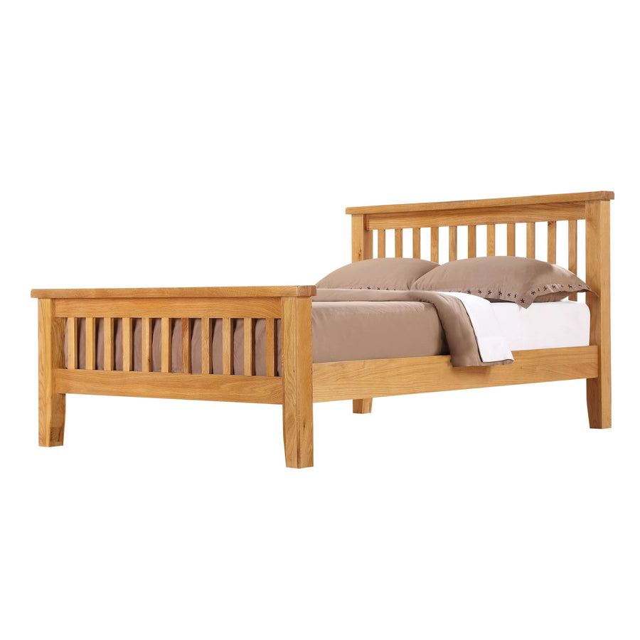 Acorn Solid Oak King Size Bed