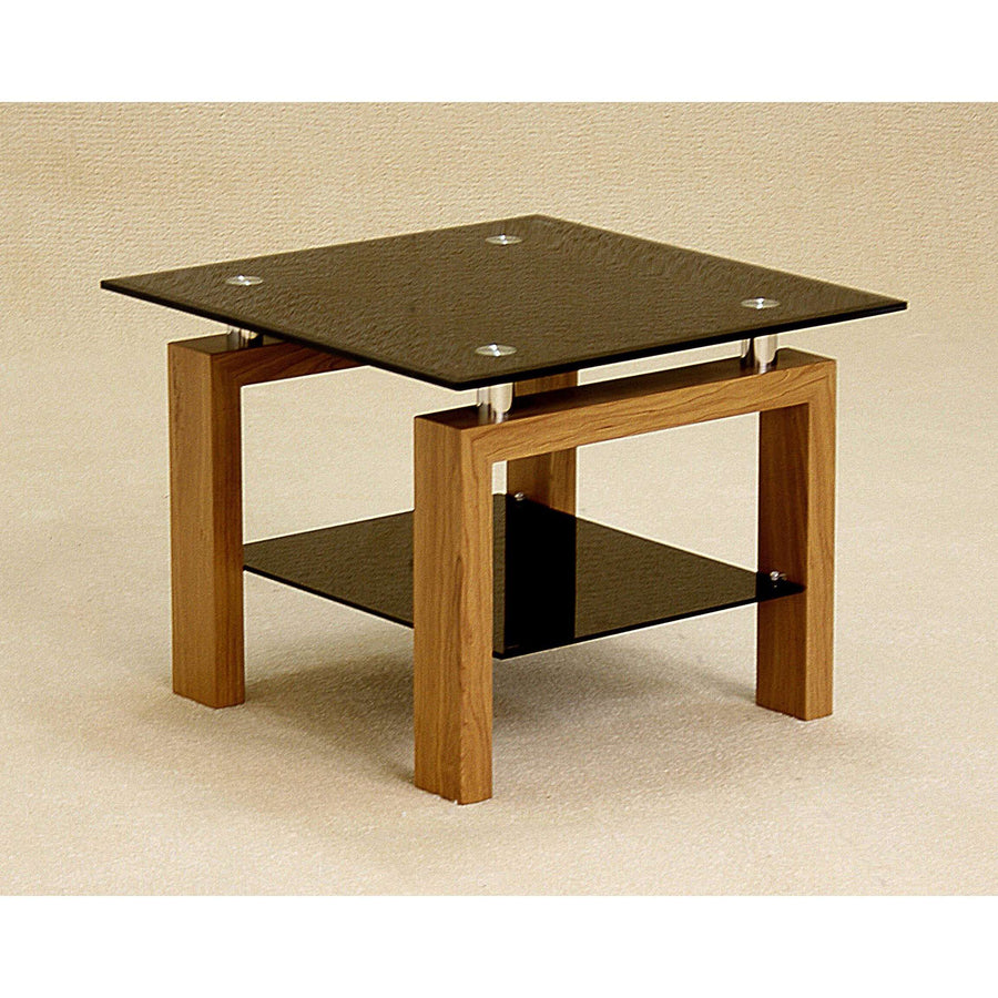 Adina Black Lamp Table