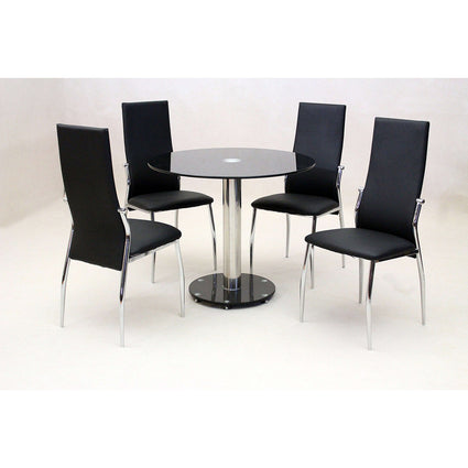 Alonza Dining Set with 4 Chairs
