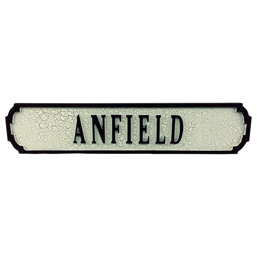 Anfield Road Sign 80cmx15cmx1.5cm