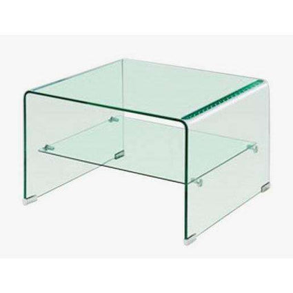 Angola Clear Lamp Table