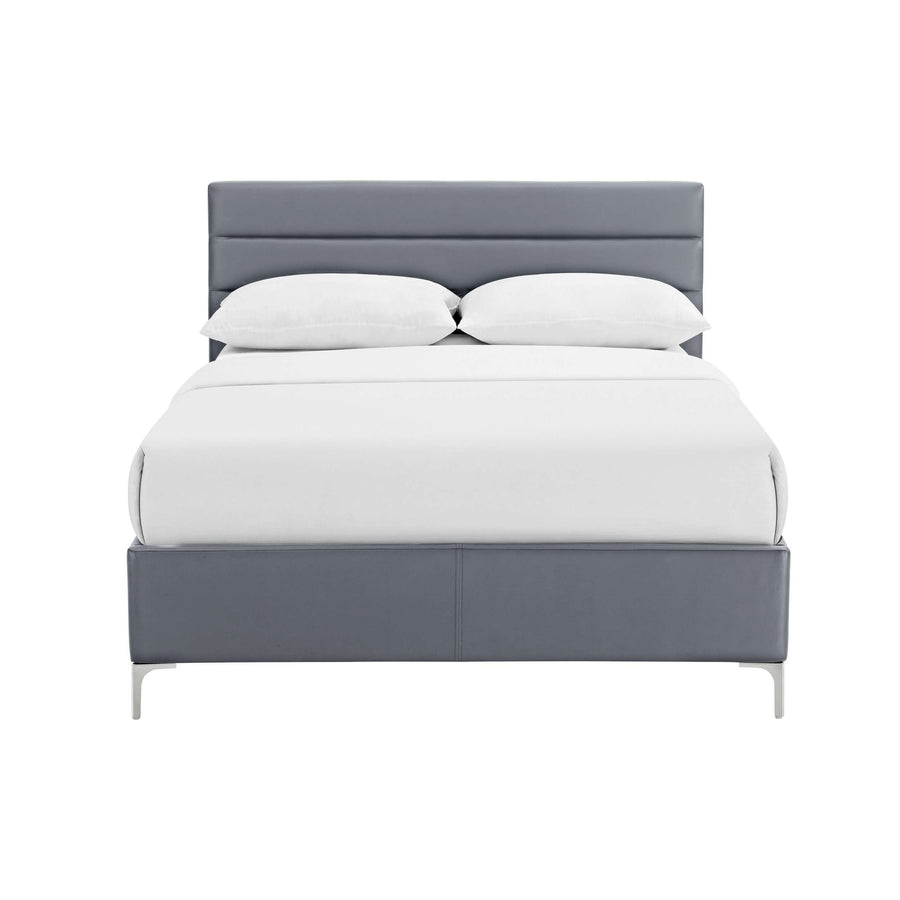 Arco King Size Bed Grey