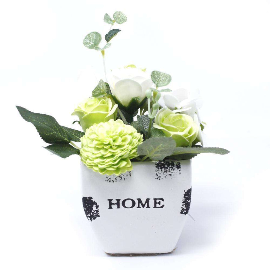 Bouquet Petite Flower Pot - Pastel Green