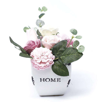Bouquet Petite Flower Pot - Peaceful Pink
