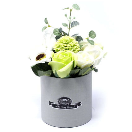 Bouquet Petite Gift Pot- Pastel Greens