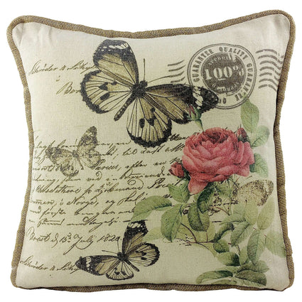 Butterfly Design Cushion 45cm