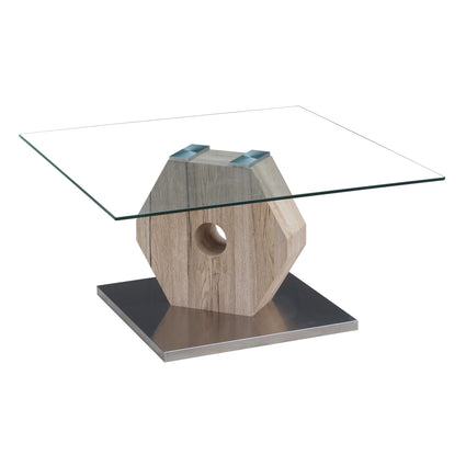 Cato Glass Coffee Table