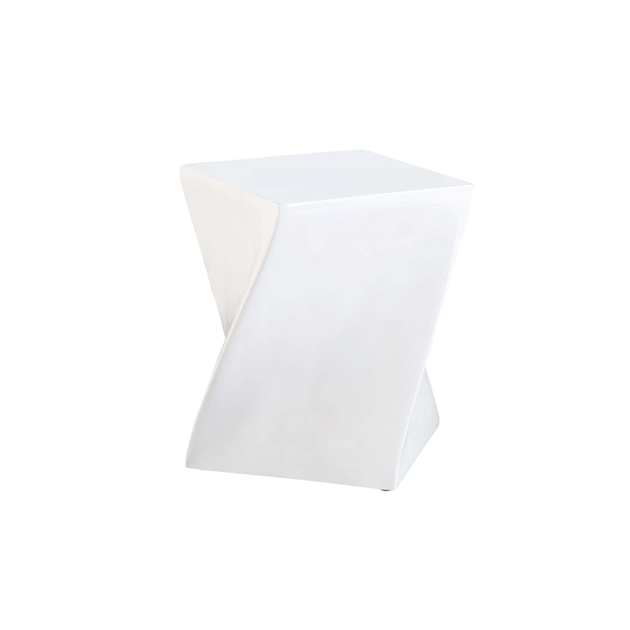Connor High Gloss Lamp Table White